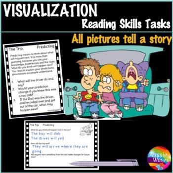 VISUALIZING Reading Comprehension & Connection Skills Task