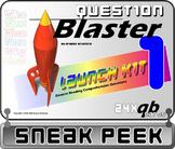 READING COMREHENSION: Question Blaster Sneak Peek FREEBIE