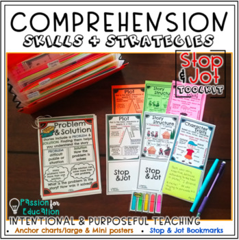 READING CONFERRING TOOLKIT BUNDLE! STOP & JOT