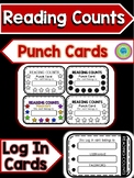 READING COUNTS PUNCH CARDS & LOG IN CARDS