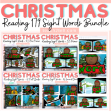 READING DOLCH SIGHT WORDS BUNDLE: CHRISTMAS/WINTER THEMED: SLIDESHOW