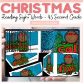 READING DOLCH SIGHT WORDS: SECOND GRADE: CHRISTMAS/WINTER THEMED: SLIDESHOW