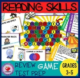 READING GAME GRADES 3-5 / READING TASK CARDS