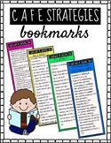 READING GOALS BOOKMARKS (C.A.F.E + Daily 5)