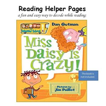 Reading Helper (PHONICS INTERVENTION) for Miss Daisy is Crazy