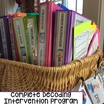 Decoding Multisyllabic Words COMPLETE SUMMER MEGA BUNDLE - Reading Intervention