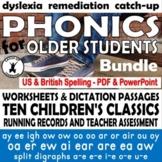 MIDDLE SCHOOL READING COMPREHENSION Phonics older students