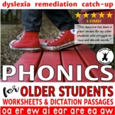 {Dyslexia Worksheets} {Upper Elementary Reading Intervention}