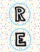 READING IS SWEET! Banner letter cutouts FREEBIE