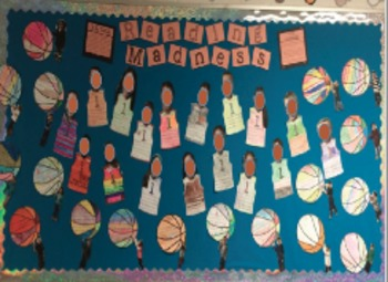 READING MADNESS - A March Madness Theme Bulletin Board