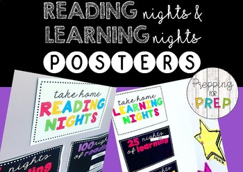 READING NIGHTS POSTERS