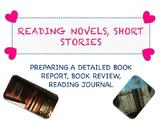 READING NOVELS, SHORT STORIES
