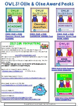 READING OWLS! CAUGHT YOU READING! At-Home Reading Incentive Program