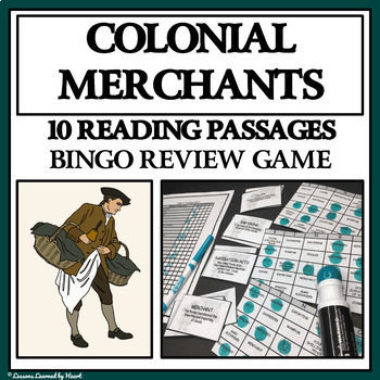 READING PASSAGES AND BINGO - Colonial American Merchants a