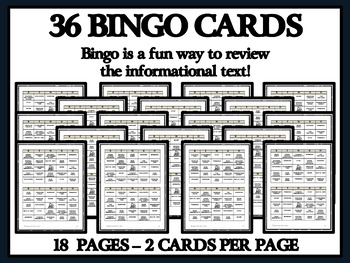 READING PASSAGES AND BINGO - Transcontinental Railroad