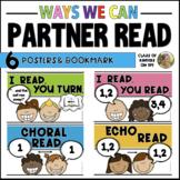 READING POSTERS: Ways to Partner Read -Reading Workshop Ki
