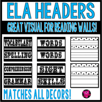 SIGHT WORDS VOCABULARY WORDS and DESK PLATES for ELA FOCUS WALL