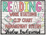 - SHIPLAP - READING! READERS! READ! Workstation Clip Chart