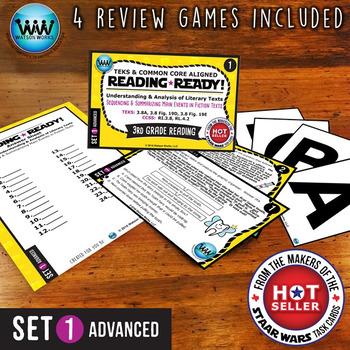 READING READY 3rd Grade – Sequencing & Summarizing Main Events ~ ADVANCED SET 2