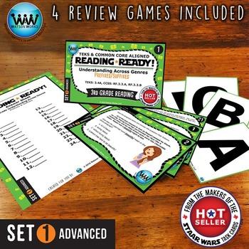 READING READY 3rd Grade Task Cards -  Prefixes & Suffixes ~ ADVANCED SET 1