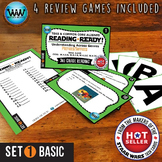 READING READY 3rd Grade Task Cards -  Prefixes & Suffixes ~ BASIC SET 1