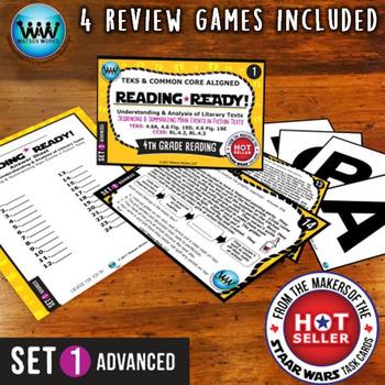 READING READY 4th Grade – Sequencing & Summarizing Main Events ~ ADVANCED SET 1