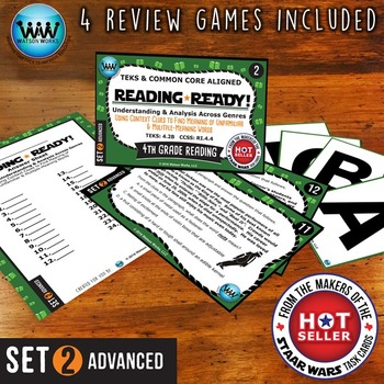 READING READY 4th Grade Task Cards – Using Context Clues ~