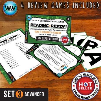 READING READY 4th Grade Task Cards - Using a Dictionary & Glossary ~ ADVANCED 3
