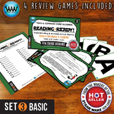 READING READY 4th Grade Task Cards - Using a Dictionary & Glossary ~ BASIC SET 3