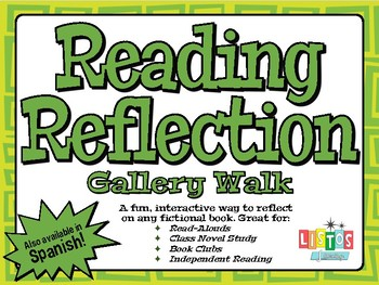 READING REFLECTION Gallery Walk