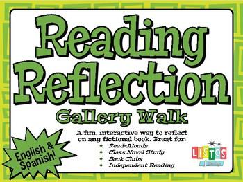 READING REFLECTION Gallery Walk - English & Spanish!