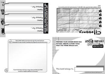 READING RESPONSE: Generic Non-Fiction Booklet 4