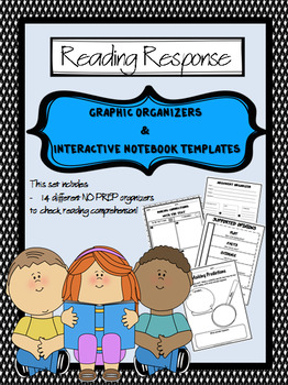 READING RESPONSE Graphic Organizers and Interactive Notebook Templates