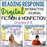 Independent Reading Journals Fiction & Nonfiction Logs DIGITAL & PRINT