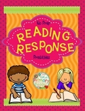 READING RESPONSE SHEETS { NO PREP } PRINTABLES