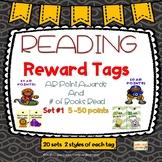 READING REWARD TAGS  SET #1