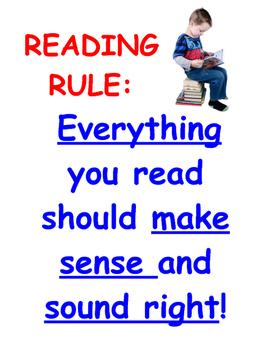 READING RULE