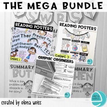 READING SKILLS AND STRATEGIES: MEGA BUNDLE