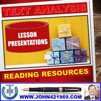 READING SKILLS - LESSONS, RESOURCES & WORKSHEETS: BUNDLE