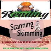 SKIMMING SCANNING CLOSE READING LESSON AND RESOURCES