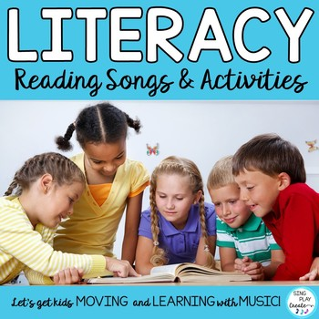 """Reading Songs and Poems with Literacy Activities: """"Read Ac"""