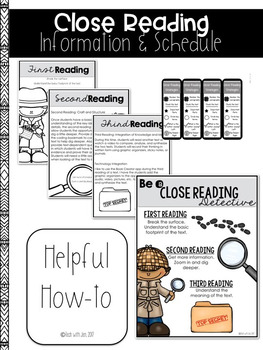 READING STRATEGIES CLOSE READING AND TEXT DEPENDENT QUESTIONS MARCH EDITION