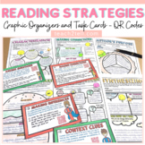 READING STRATEGIES: GRAPHIC ORGANIZERS: TASK CARDS: QR CODES