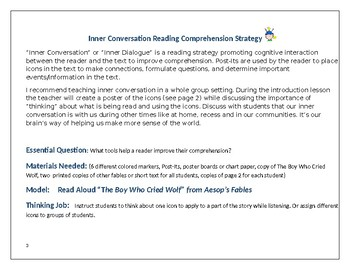 READING COMPREHENSION:INNER CONVERSATION