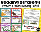 READING STRATEGIES Posters and Guided Reading Cards