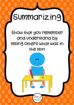 READING STRATEGIES - Super Six Posters - USA spelling