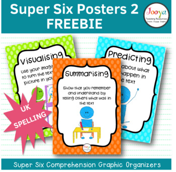 READING STRATEGIES -Super Six Reading Strategies Posters