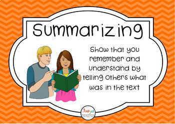 READING STRATEGIES: Super Six Reading Strategies Posters Freebie