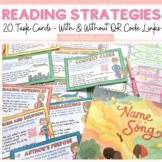 READING STRATEGIES: TASK CARDS: QR CODES