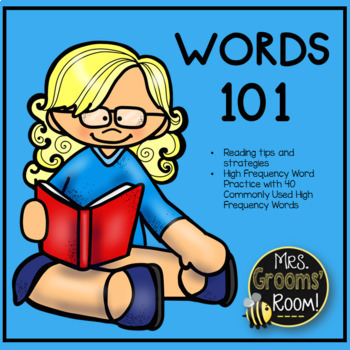 A POWERPOINT FOR READING STRATEGIES: WORDS 101